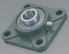 "5/8"" Mounted Bearings UCF202-10 + Square Flanged Cast Housing"