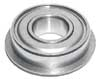 "R6ZZNR Bearing 3/8""x7/8""x9/32"" Shielded:Snap Ring"